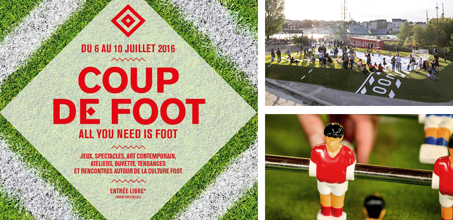"""Coup de Foot"" au Carreau"